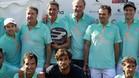 Feliciano López jugó un torneo solidario ayer en Madrid, con Bertin Osborne, Pedro Delgado, Anselmo Fuerte y Michel entre otras caras conocidas