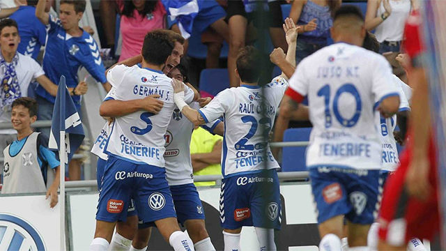 El Tenerife toma ventaja ante el Getafe en la lucha por el ascenso