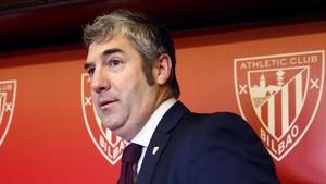 Urrutia, orgulloso de tener el privilegio de presidir el Athletic