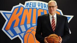 Phil Jackson no ha logrado llevar a los Knicks a la lucha por el título