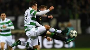 Rogic marcó el segundo gol del conjunto escocés