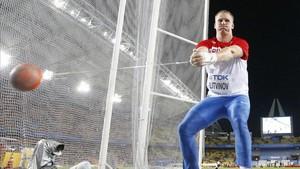 El lanzador de martillo Sergej Litvinov podrá competir bajo bandera neutra