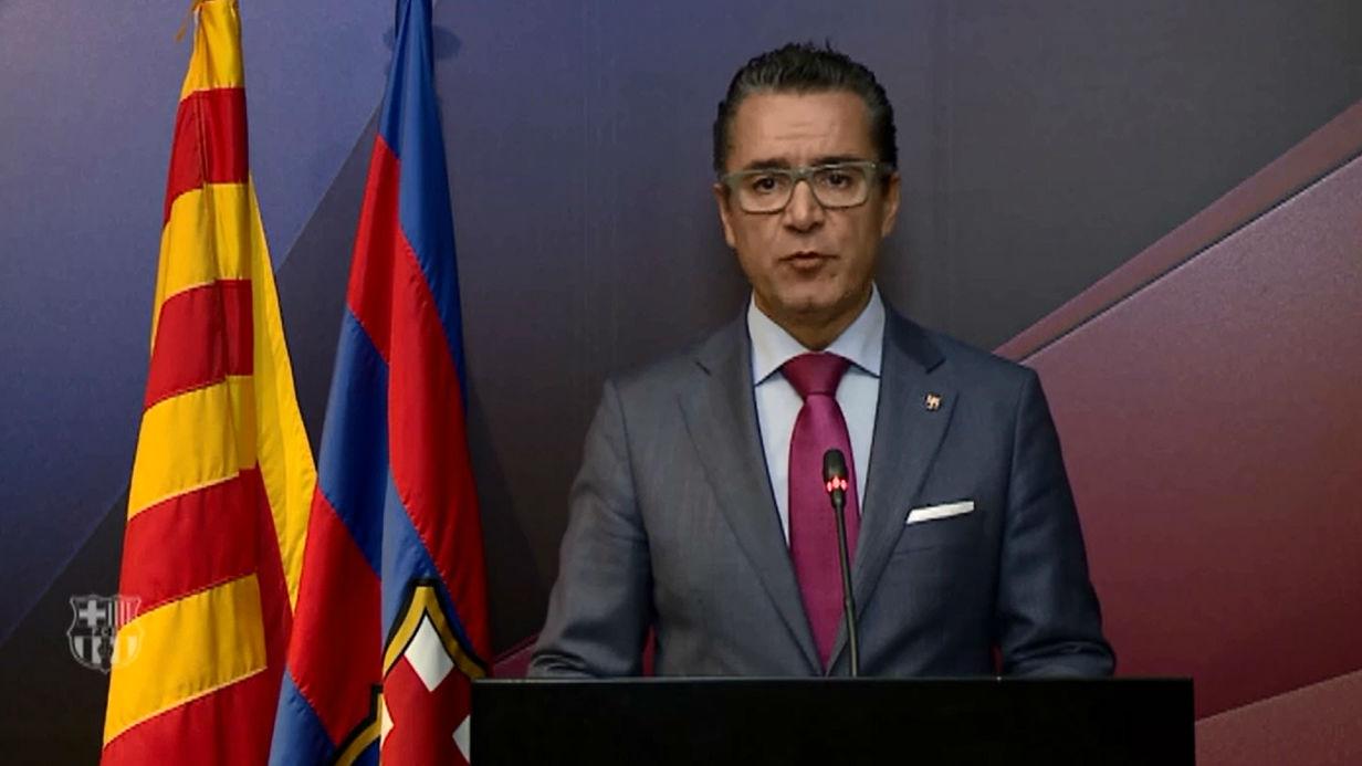 El FC Barcelona condena las detenciones de la Generalitat