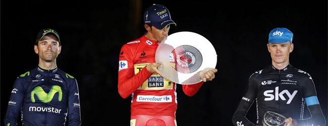 Alberto Contador gana su tercera Vuelta
