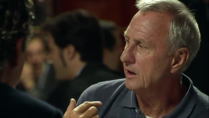 As� frenaba Cruyff a los delanteros que se desmarcaban bien