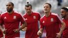 Los jugadores de Gales festejaron el KO ingl�s