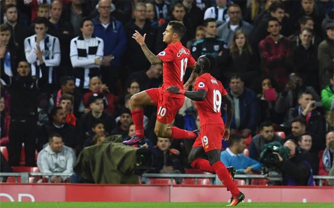 Coutinho encarril� el triunfo del Liverpool en Anfield