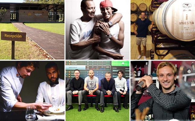 Estos son los negocios de Messi, Neymar, Alves, Iniesta, Rakitic y Piqué