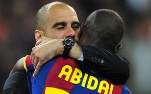 Guardiola y Abidal compartieron grandes momentos