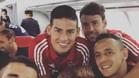 James Rodríguez viaja hacia la China