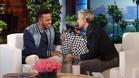 Lewis Hamilton en Ellen DeGeneres