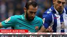 Los números de Aleix Vidal durante el partido ante el Alavés