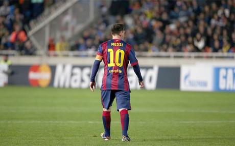 Messi dej� atr�s a Ra�l y ya es el m�ximo goleador de la Champions