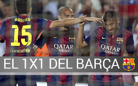Neymar marc� el primer gol del partido