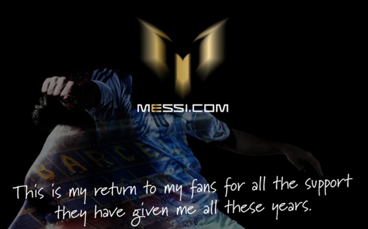 Leo Messi ya tiene su propia web oficial