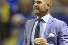 Paco J�mez, entrenador del Rayo Vallecano