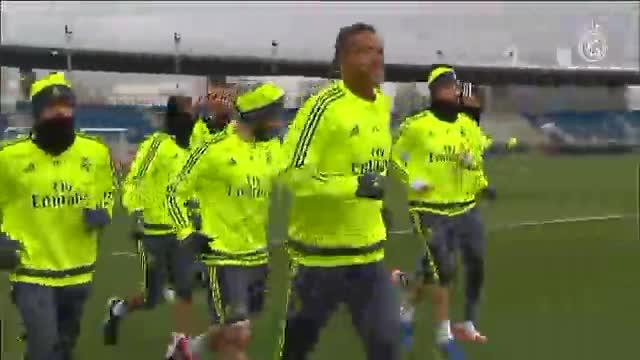 El Real Madrid se vuelve a entrenar sin Bale