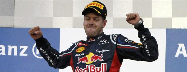Vettel se proclamó campeón en una carrera de infarto