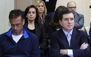 La infanta Cristina, en el banquillo de acusados