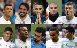 Las 10 bajas que han pactado Florentino Pérez y Zidane