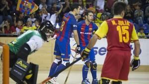 El Barça avasalló al Bassano en el Palau, donde ganó 14-3