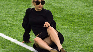 El descuido de Lady Gaga dio mucho que hablar
