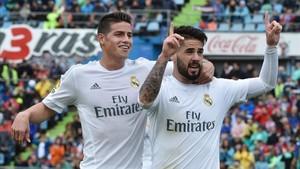 James abandonará el Madrid tras la renovación de Isco