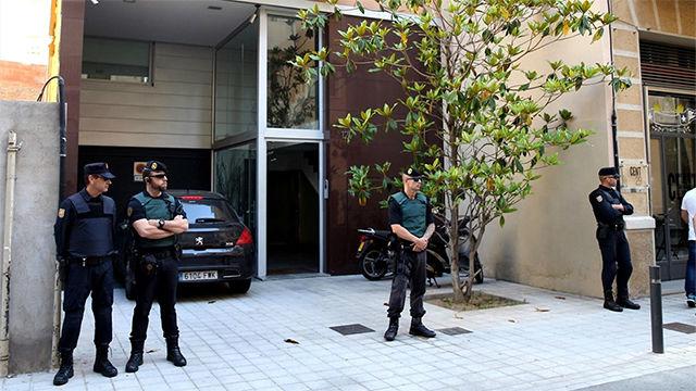 Registro policial en el domicilio de Sandro Rosell en el marco de la Operación Rimet