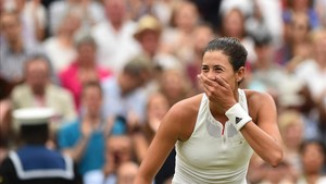 Garbiñe Muguruza ha dejado atrás su victoria en Wimbledon