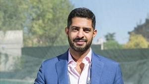 Nasser Al Khater, el representante del Comité Organizador del Mundial de Catar 2022