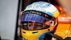 Alonso, optimista de cara a la carrera de este domingo
