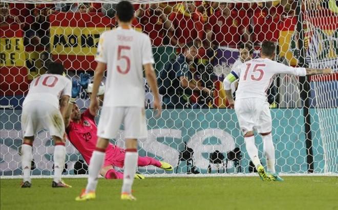 Collina cree que Subasic se adelant� en el penalti de Ramos