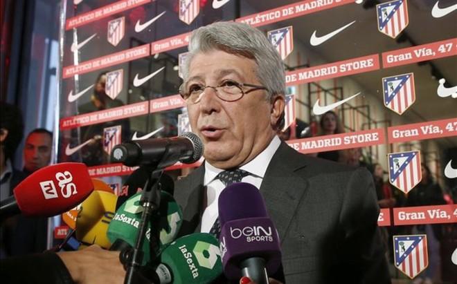 Enrique Cerezo no quiere pol�micas con el Athletic