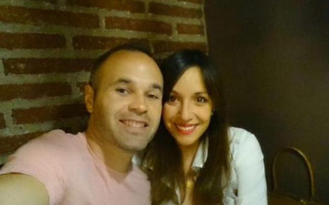 Iniesta And Anna Ortiz