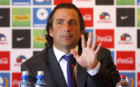 Juan Antonio Pizzi, seleccionador de Chile