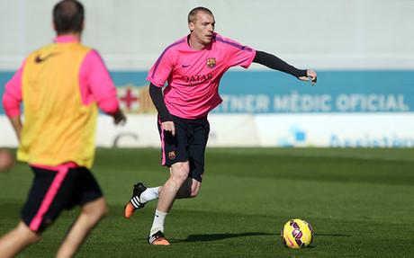 Mathieu aspira a ser titular contra el Sevilla