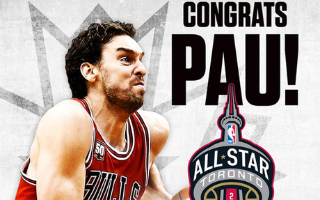 La NBA escogi� a Pau Gasol para formar parte del equipo del Este
