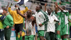 Nigeria derrotó a España