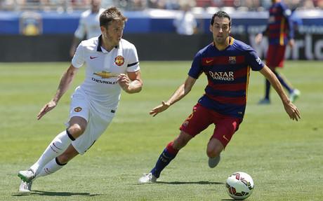 Sergio Busquets en la gira americana con el FC Barcelona