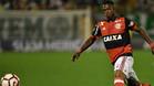 Vinicius Junior en acción durante un encuentro del Flamengo