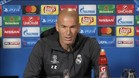 """Zidane, sobre el cambio de CR7: """"No soy tonto"""""""