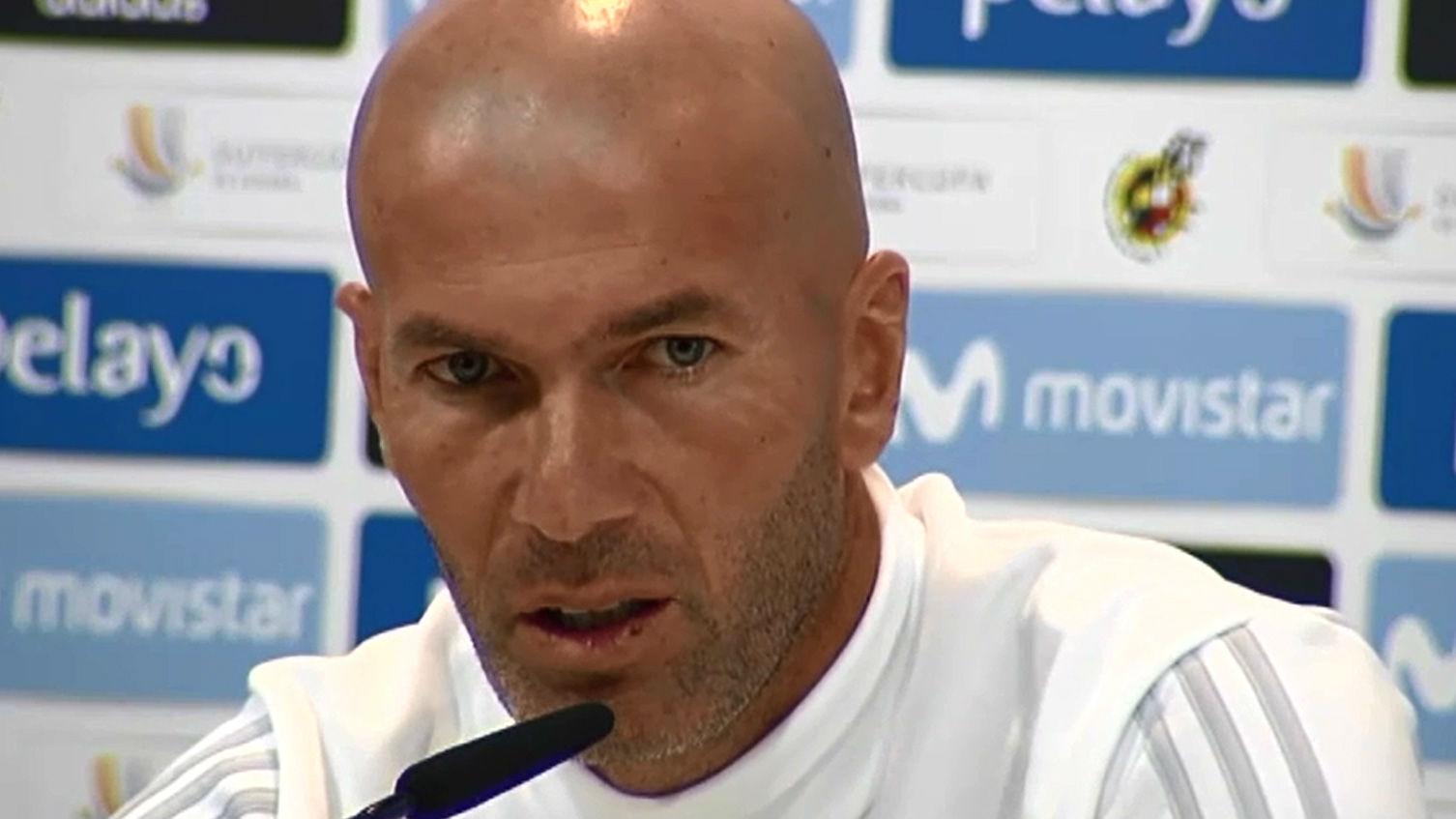 Zidane, molesto con la sanción a Cristiano