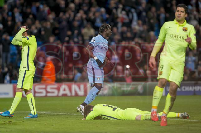 صور : مباراة مانشستر سيتي - برشلونة 1-2 ( 24-02-2015 )  1424816321211