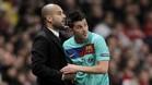 Villa y Guardiola compartieron equipo en el FC Barcelona.