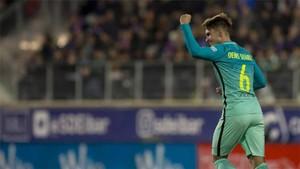 Denis Suárez marcó un gol en Eibar