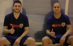 Ferrao y Dyego trabajan con Brasil en la Ciutat Esportiva Joan Gamper