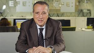 Fernando Roig, presidente del Villareal, durante una entrevista