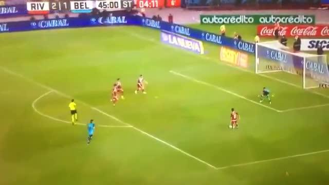 Tremenda ocasión fallada por River Plate