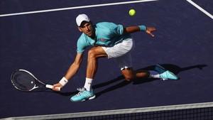 Novak Djokovic está listo para la eliminatoria de Copa Davis ante España