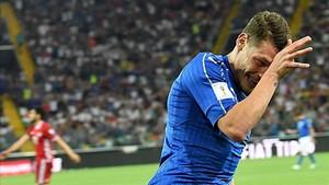 Belotti celebra el gol que supuso el momentáneo dos a cero